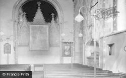 Llandaff, Cathedral, Interior c.1933