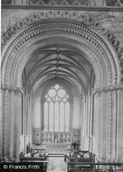 Llandaff, Cathedral, Lady Chapel Seen Through The Norman Arch c.1956