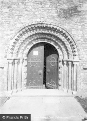 Llandaff, Cathedral, South Door 1893