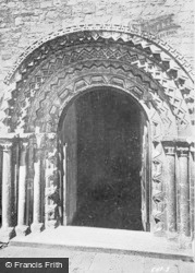Llandaff, Cathedral, South Door c.1933
