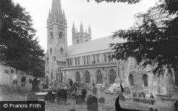 Llandaff, Cathedral, South Side c.1933