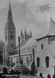 Llandaff, Cathedral, South-West View c.1956