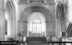 Llandaff, Cathedral, The High Altar c.1965