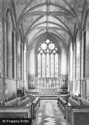 Llandaff, Cathedral, The Lady Chapel c.1956