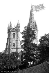 Llandaff, Cathedral West Front c.1874