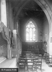 Llandaff, Cathedral, Window And Matthew Chapel c.1933