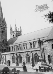 Llandaff, South West View c.1960