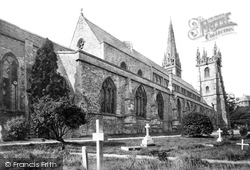 Llandaff, The Cathedral, North East 1893