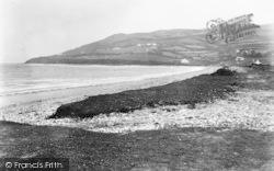 Llanddona, Beach And Point c.1950