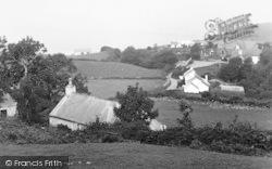 Llanddona, Church And Lower Village c.1950