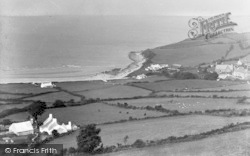 Llanddona, General View c.1955