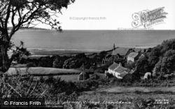 Llanddona, Lower Village c.1960