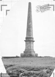 Llanddona, Sir Richard Bulkeley Memorial c.1955