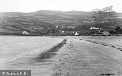 Llanddona, The Beach At Wern-Y-Wylan c.1950