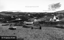 Llanddona, The Beach c.1960