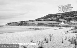 Llanddona, The Beach c.1965