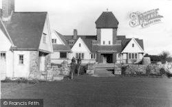 Llanddona, The Hotel Wern c.1955