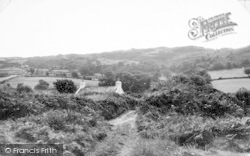 Llanddona, The Path From The Beach c.1960