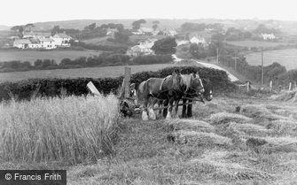 Llanddona, the Village c1955