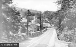 Llanddulas, Coast Road c.1955
