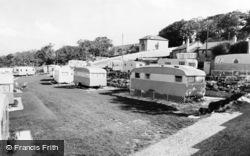 Llanddulas, Craig-Y-Mor Caravan Park c.1960