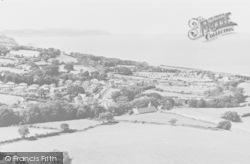 Llanddulas, From Pen Y Cefn Mountain c.1960