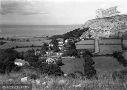 Llanddulas, General View c.1950