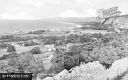 Llanddulas, General View c.1955