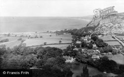 Llanddulas, General View From The Hills c.1955