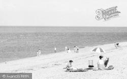 Llanddulas, On The Beach c.1960