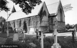 Llanddulas, Parish Church Of St Cynbryd c.1955