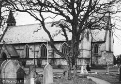 Llanddulas, St Cynbryd's Church c.1960