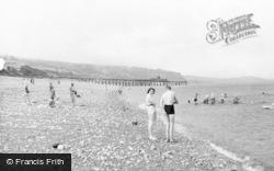 Llanddulas, The Beach c.1955