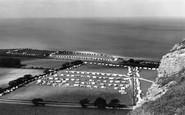 Llanddulas, the Caravan Site c1960