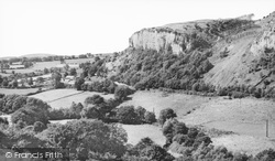 Llanddulas, The Maiden's Leap c.1960