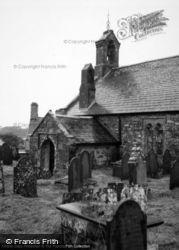 Llanddwywe, St Dwywau's Church 1961