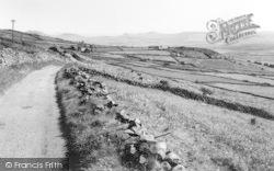 Llandegwning, View From Rhiw Mountain c.1960