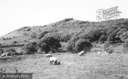 Llandegwning, View Of Mount Rhiw c.1960