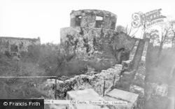 Llandeilo, Dinefwr Castle c.1950
