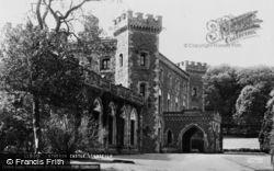 Llandeilo, Dinefwr Castle c.1955