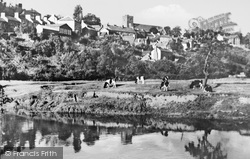 Llandeilo, From The River c.1955