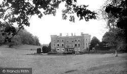 Llandeilo, Newton House c.1960