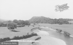Llandeilo, River Towy c.1955