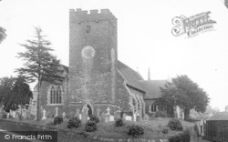 Llandeilo, St Teilo's Church c.1955