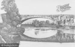 Llandeilo, Stone Bridge c.1939