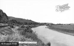 Llandeilo, The River Towy c.1955