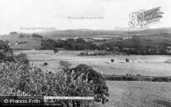 Llandeilo, View From Crescent Road c.1955