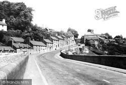 Llandeilo, View From The Bridge c.1955