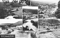 Llandogo, Composite c.1960