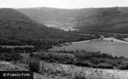 Llandogo, From Tylthams Tump c.1955